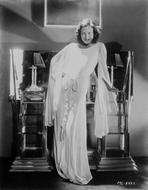 Joan Crawford - Joan Crawford wearing a White Dress in a Classic