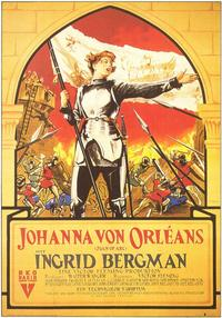Joan of Arc - 11 x 17 Movie Poster - German Style A