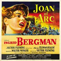 Joan of Arc - 40 x 40 - Movie Poster - Style A