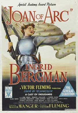 Joan of Arc - 27 x 40 Movie Poster - Australian Style A