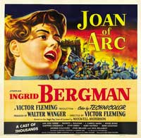 Joan of Arc - 40 x 40 - Movie Poster - Style B
