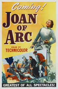Joan of Arc - 11 x 17 Movie Poster - Style C