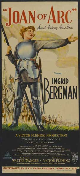 Joan of Arc - 14 x 36 Movie Poster - Insert Style A