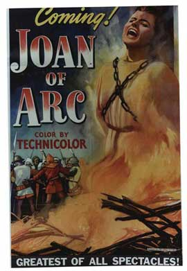 Joan of Arc - 11 x 17 Movie Poster - Style F
