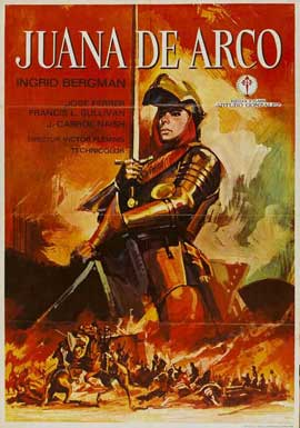 Joan of Arc - 11 x 17 Movie Poster - Spanish Style A