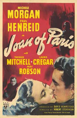 Joan of Paris - 11 x 17 Movie Poster - Style A