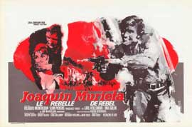 Joaquin Murieta - 27 x 40 Movie Poster - Belgian Style A