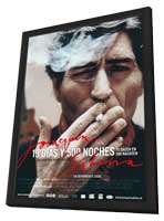 Joaquín Sabina - 19 días y 500 noches - 11 x 17 Movie Poster - Dutch Style A - in Deluxe Wood Frame