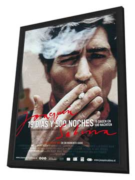 Joaquín Sabina - 19 días y 500 noches - 27 x 40 Movie Poster - Dutch Style A - in Deluxe Wood Frame