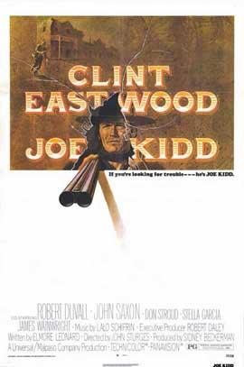 Joe Kidd - 11 x 17 Movie Poster - Style A