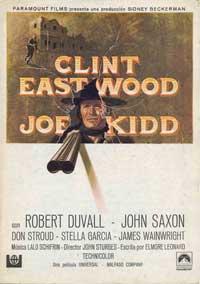 Joe Kidd - 11 x 17 Movie Poster - Spanish Style A