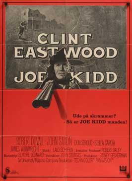 Joe Kidd - 27 x 40 Movie Poster - Danish Style A