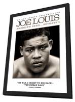 Joe Louis: America's Hero... Betrayed - 11 x 17 Movie Poster - Style A - in Deluxe Wood Frame