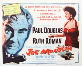 Joe Macbeth - 22 x 28 Movie Poster - Half Sheet Style A