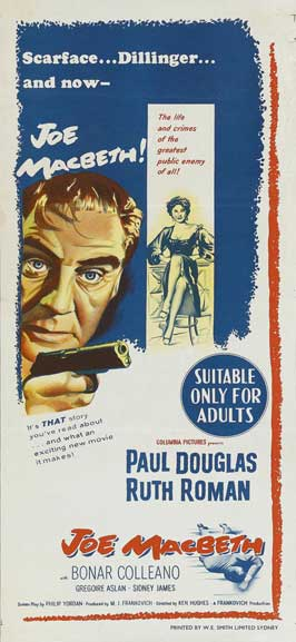 Joe Macbeth - 14 x 36 Movie Poster - Insert Style A