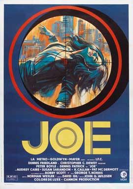 Joe - 27 x 40 Movie Poster - Italian Style A