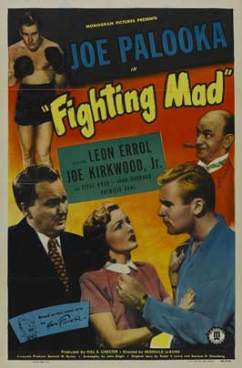 Joe Palooka in Fighting Mad - 11 x 17 Movie Poster - Style A