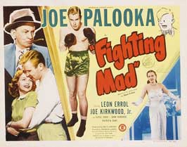 Joe Palooka in Fighting Mad - 11 x 14 Movie Poster - Style A