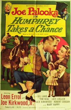 Joe Palooka in Humphrey Takes a Chance - 11 x 14 Movie Poster - Style A