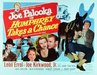 Joe Palooka in Humphrey Takes a Chance - 11 x 14 Movie Poster - Style B