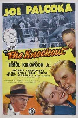 Joe Palooka in the Knockout - 27 x 40 Movie Poster - Style A