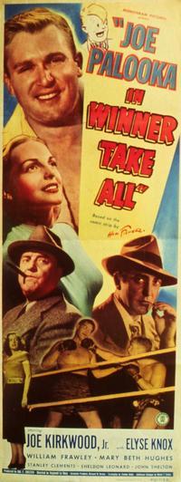 Joe Palooka in Winner Take All - 11 x 17 Movie Poster - Style A