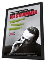 Joe Strummer: The Future is Unwritten - 11 x 17 Movie Poster - Style A - in Deluxe Wood Frame