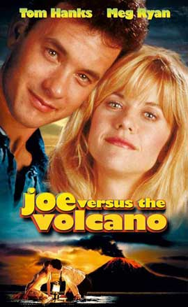 Joe Versus The Volcano - 27 x 40 Movie Poster - Style B