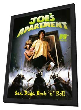 Joe's Apartment - 11 x 17 Movie Poster - Style B - in Deluxe Wood Frame