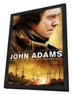 John Adams - 11 x 17 Movie Poster - Style A - in Deluxe Wood Frame
