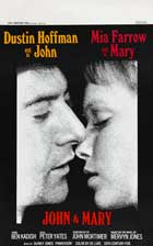John and Mary - 27 x 40 Movie Poster - Belgian Style A