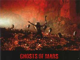 John Carpenter's Ghosts of Mars - 11 x 14 Poster French Style B