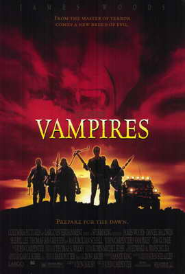 John Carpenter's Vampires - 11 x 17 Movie Poster - Style A