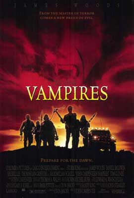John Carpenter's Vampires - 27 x 40 Movie Poster - Style A