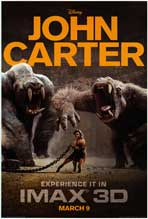 John Carter - DS 1 Sheet Movie Poster - Style B