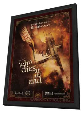 John Dies at the End - 11 x 17 Movie Poster - Style A - in Deluxe Wood Frame