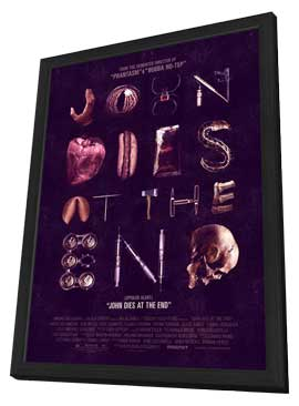 John Dies at the End - 27 x 40 Movie Poster - Style A - in Deluxe Wood Frame