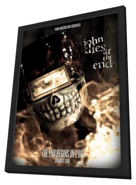 John Dies at the End - 27 x 40 Movie Poster - Style B - in Deluxe Wood Frame