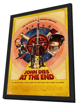John Dies at the End - 27 x 40 Movie Poster - Style C - in Deluxe Wood Frame