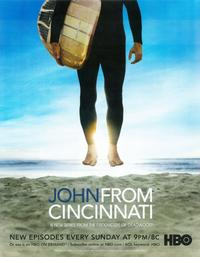 John From Cincinnati (TV) - 11 x 14 TV Poster - Style A