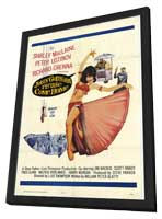 John Goldfarb Please Come Home - 11 x 17 Movie Poster - Style A - in Deluxe Wood Frame