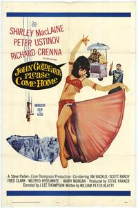 John Goldfarb Please Come Home - 11 x 17 Movie Poster - Style A