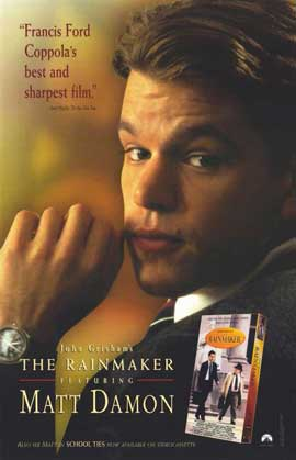 John Grisham's The Rainmaker - 11 x 17 Movie Poster - Style B