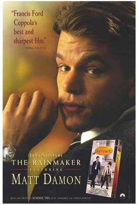 John Grisham's The Rainmaker - 27 x 40 Movie Poster - Style B