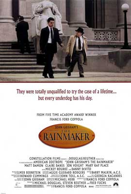 John Grisham's The Rainmaker - 27 x 40 Movie Poster - Style A
