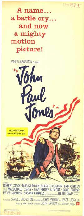 John Paul Jones - 27 x 40 Movie Poster - Style A