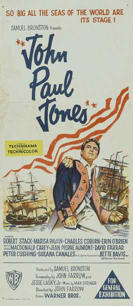 John Paul Jones - 13 x 30 Movie Poster - Australian Style A