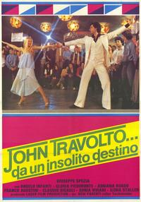 John Travolto da un insolito destino - 11 x 17 Movie Poster - Spanish Style A