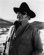 John Wayne - John Wayne is wearing an Eye Patch