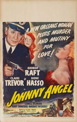 Johnny Angel - 27 x 40 Movie Poster - Style B